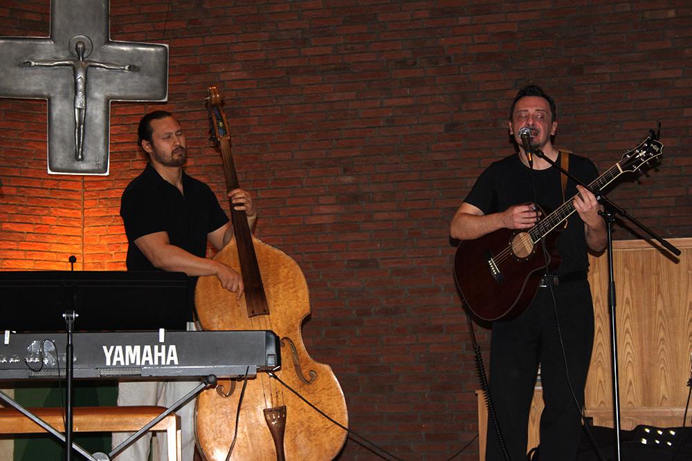 Carlos Baker und Thomas Milke