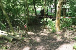 Mountainbike Parcours Porta Westfalica Nammen